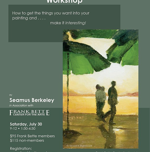 Compostion Painting Frank Bette Workshop Seamus Berkeley