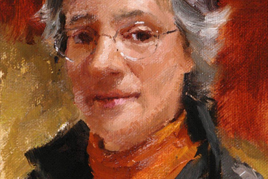 Deborah Marks Portrait Painting Seamus Berkeley