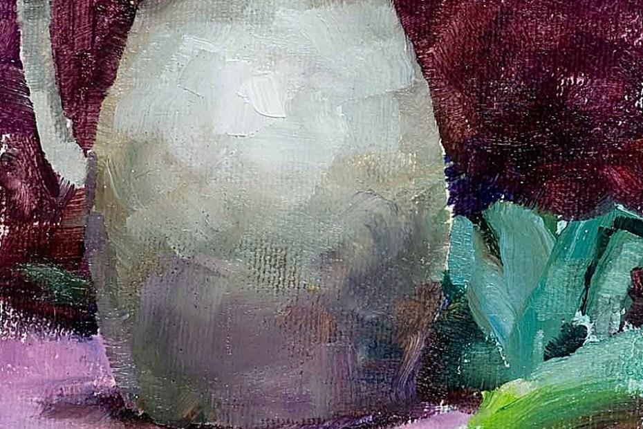 Leeks Painting Seamus Berkeley