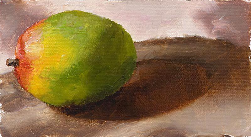 Mango Morning Painting Seamus Berkeley