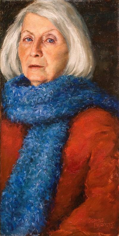 Mother Portrait Painting Seamus Berkeley