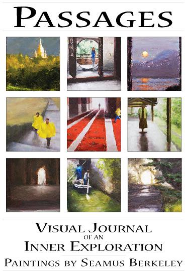 Passages Show Poster Painting Seamus Berkeley