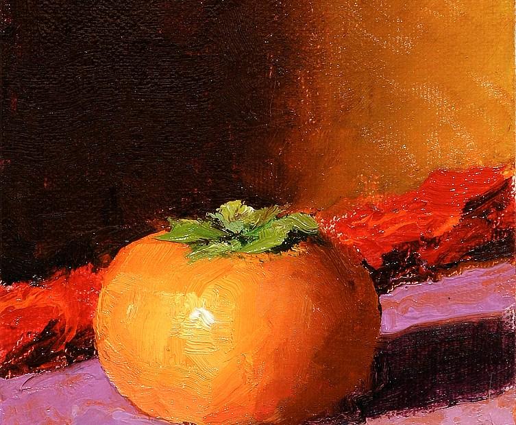 Persimmon Painting Seamus Berkeley
