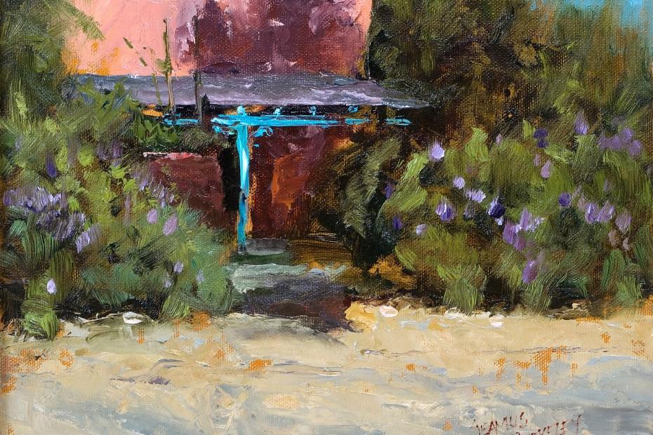 Taos Porch Painting Seamus Berkeley