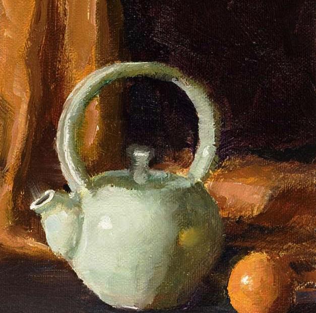 Teapot Painting Seamus Berkeley