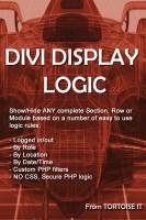 Divi Display Logic – A new product