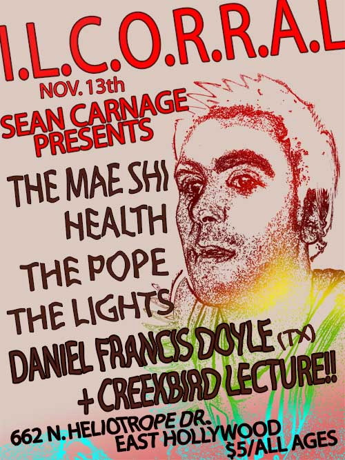 Sean Carnage presents: The Mae Shi & Health
