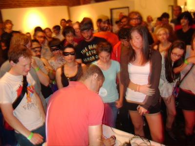 DAN DEACON, KYLE MABSON, & MONOTONIX AT F YEAH FEST… WOO-HOO!!!