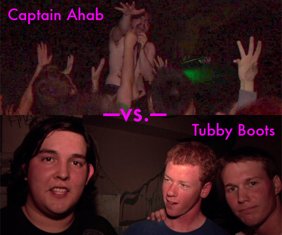 Weekend poll: Captain Ahab vs. Tubby Boots