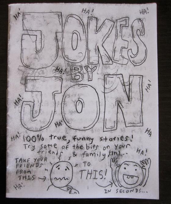 """The winner of the """"Jokes by Jon"""" funny joke contest is…"""