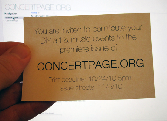 Please contribute to L.A.'s new DIY event publication
