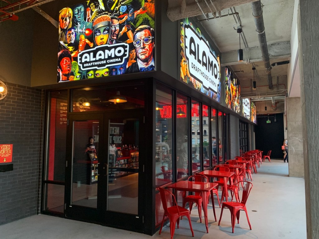 I got a personal tour of the new Alamo Drafthouse in DTLA
