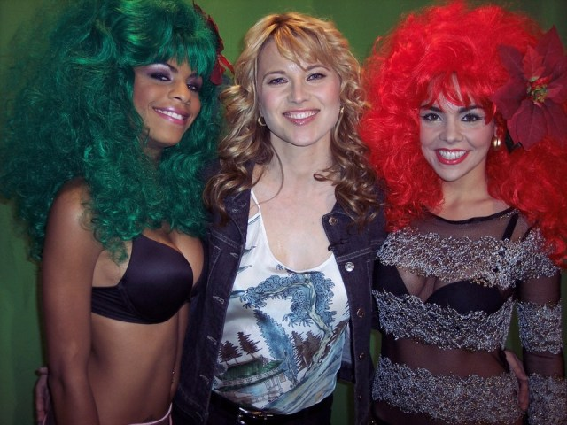 The Barbarellas and Lucy Lawless.