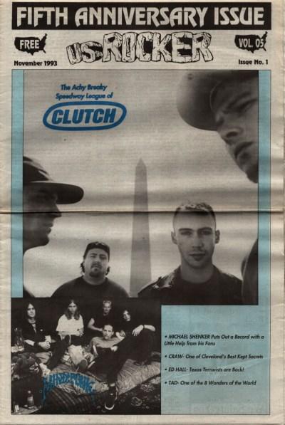 U.S. Rocker, November 1993