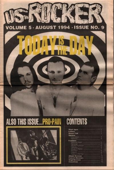 U.S. Rocker, August 1994