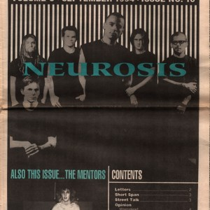 US Rocker cover Neurosis 1994