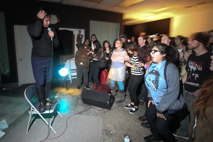 Photos: Michael Nhat album party with Voice On Tape, Fantastica Bastidas, So Many Wizards