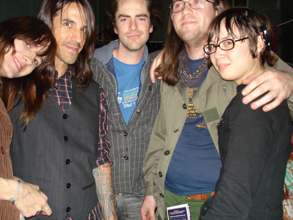 That time Anthony Kiedis hung out with us on a Monday Night