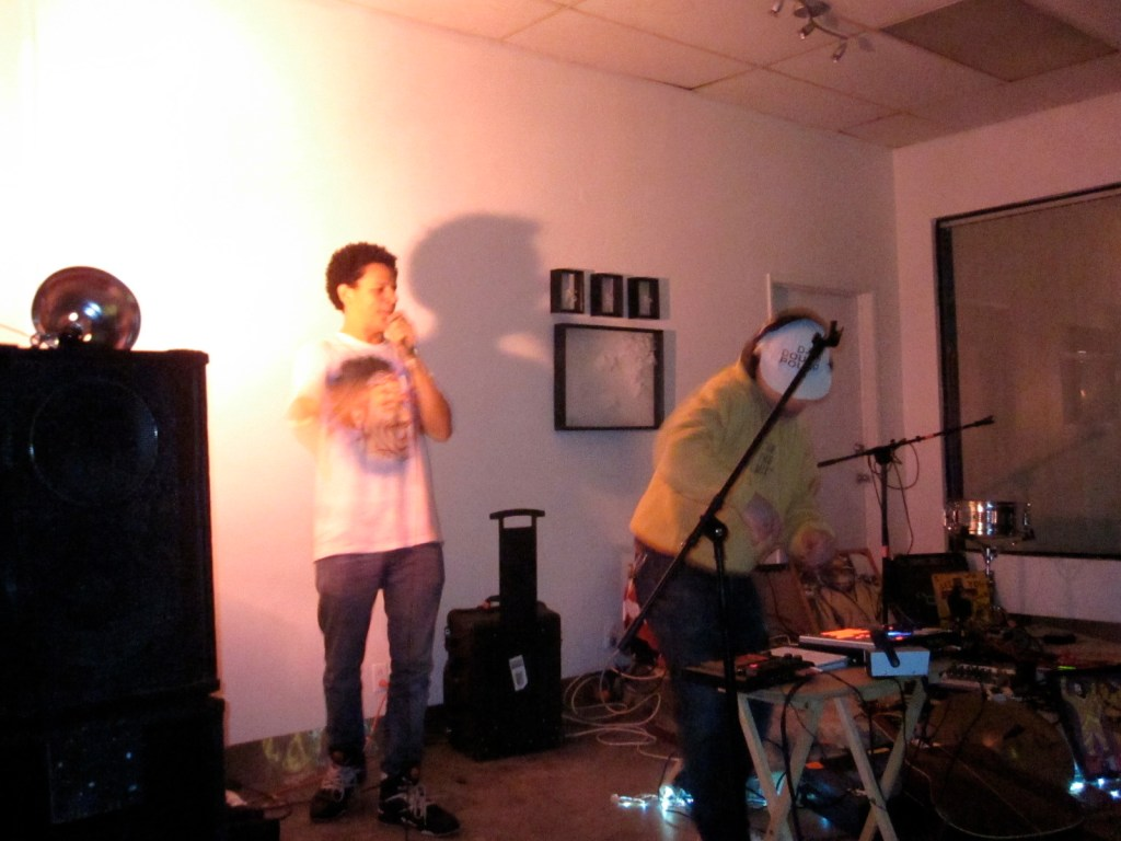 Photos: Eric Andre and DJ Douggpound at Pehrspace