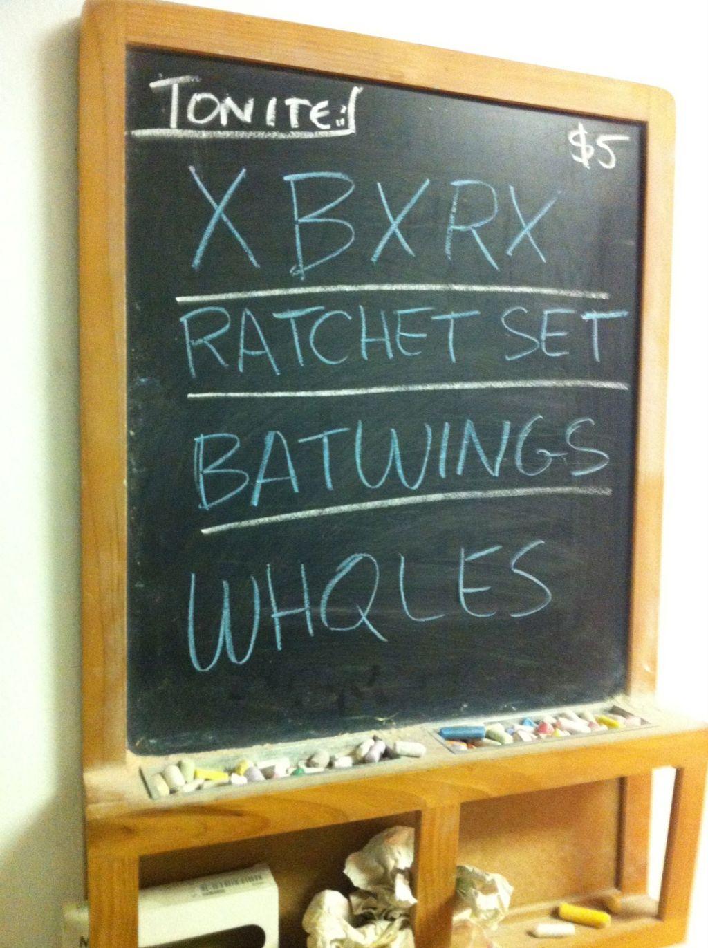 Photos: XBXRX, Ratchet Set, Whqles, Batwings