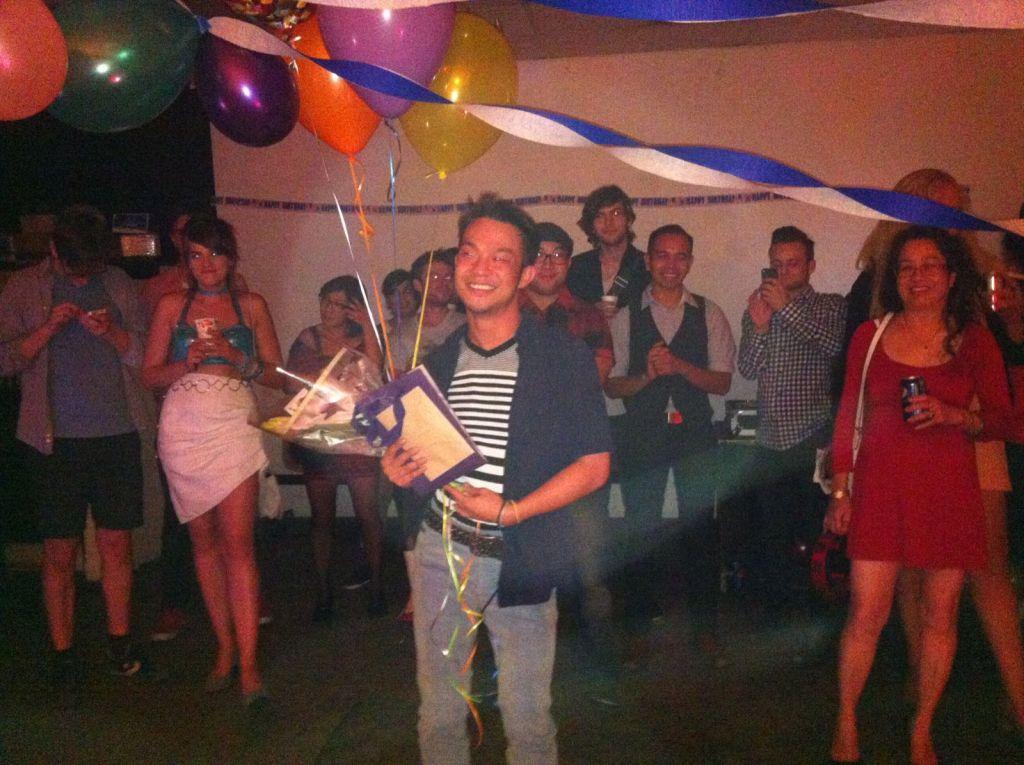 Photos: Mikhai's Bai Ling birthday surprise