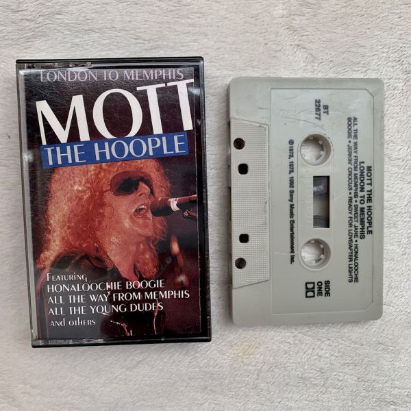 "Mott The Hoople ""LONDON TO MEMPHIS"" cassette"