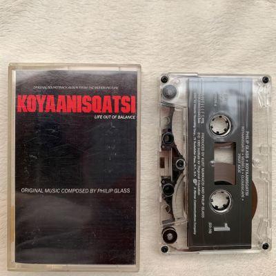 "Philip Glass ""KOYAANISQATSI"" cassette"