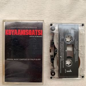 Philip Glass Koyaanisqatsi soundtrack cassette