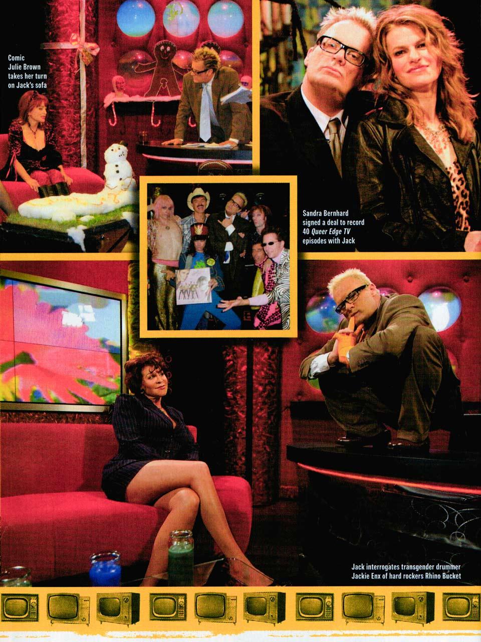 Bizarre magazine 2006 Jack E. Jett Lenora Claire