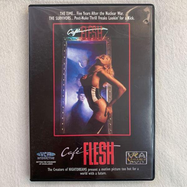 Cafe Flesh porno DVD