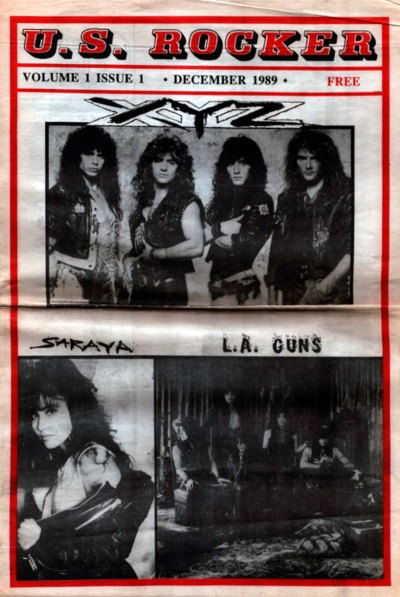 U.S. Rocker, December 1989