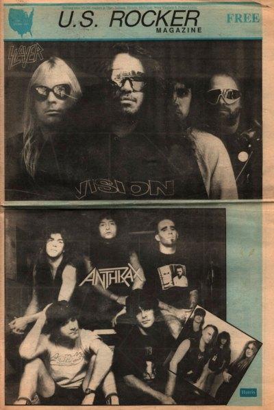 U.S. Rocker, February 1991