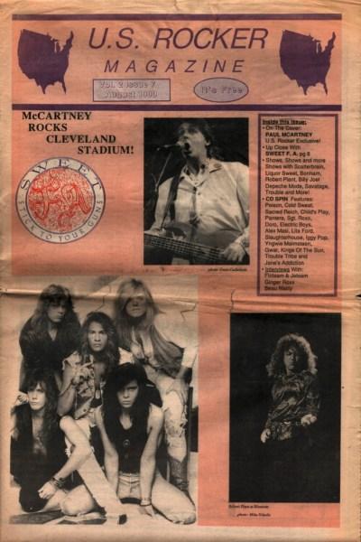 U.S. Rocker, August 1990