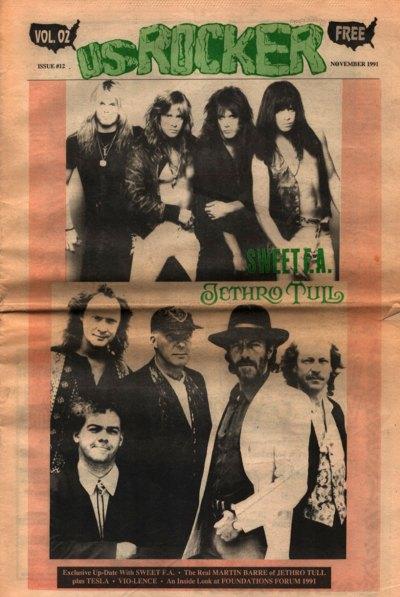 U.S. Rocker, November 1991