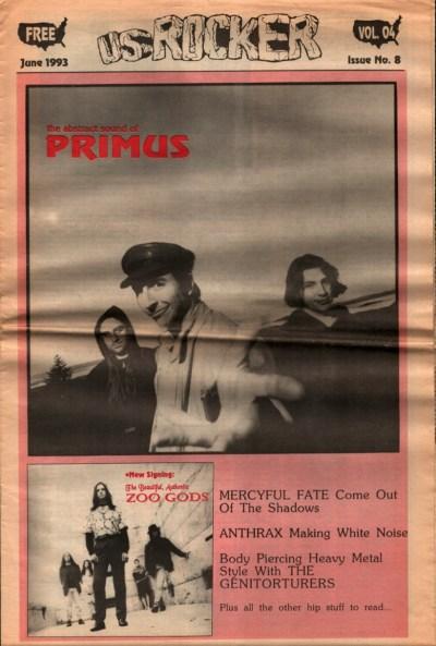 U.S. Rocker, June 1993