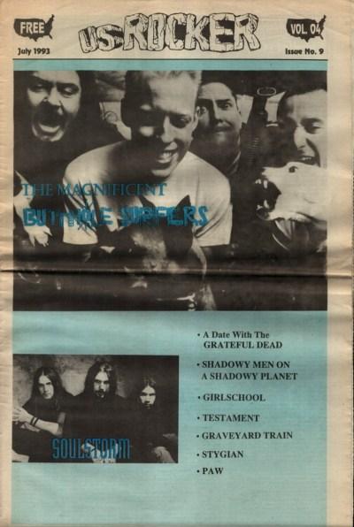 U.S. Rocker, July 1993