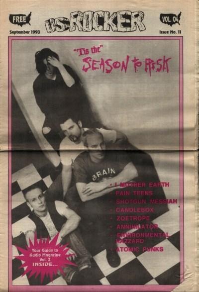U.S. Rocker, September 1993