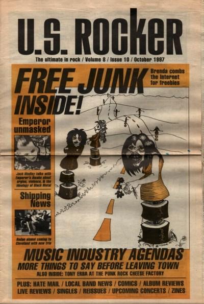 U.S. Rocker, October 1997