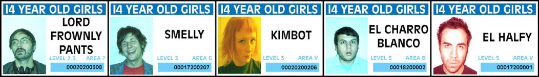 14 Year Old Girls Nintendo Punk Los Angeles