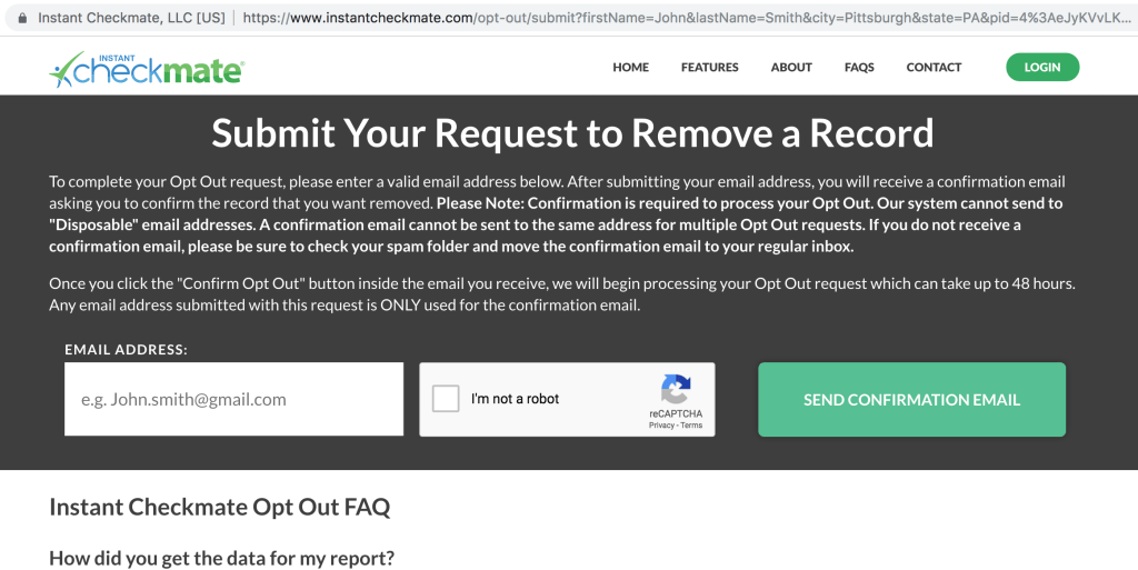 instant checkmate opt-out 1
