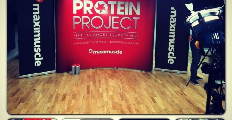 Maximuscle's Protein Project
