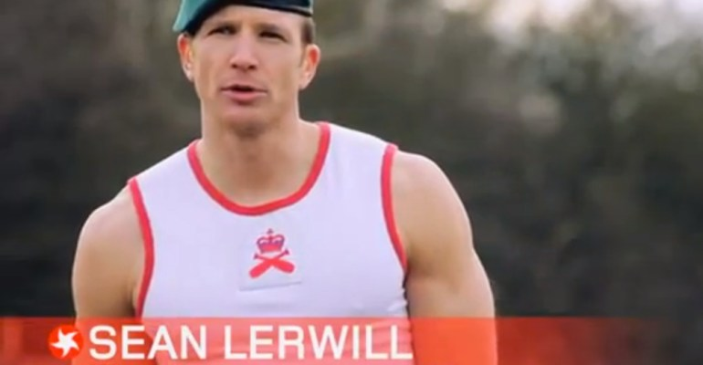 Sean Lerwill Ex Royal Marines Commando PTI