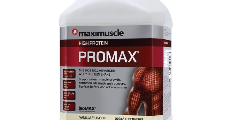 Maximuscle Vanilla Promax