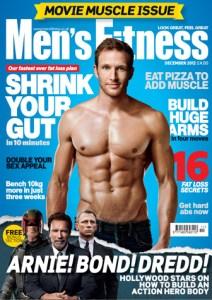 Sean Lerwill's Men's Fitness cover