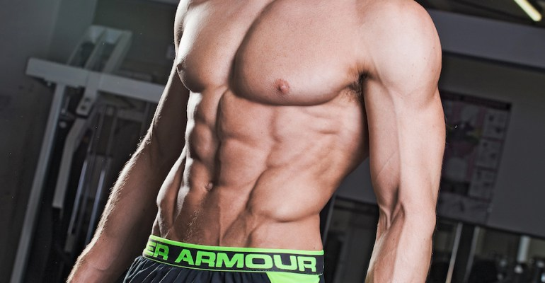 Sean Lerwill's Under Armour shorts