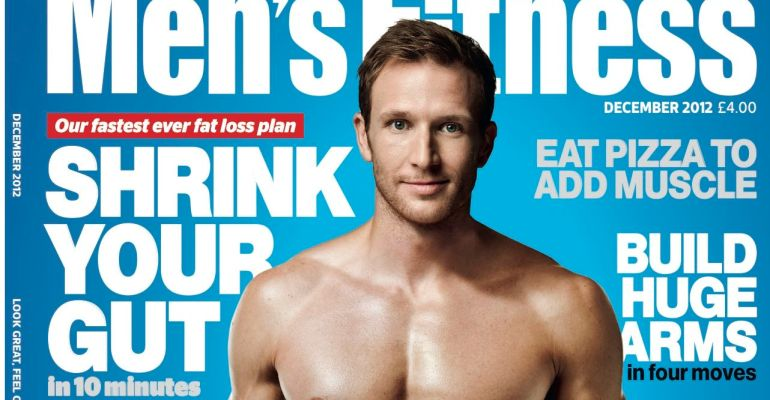 Sean Lerwill's Men's Fitness Cover December 2012