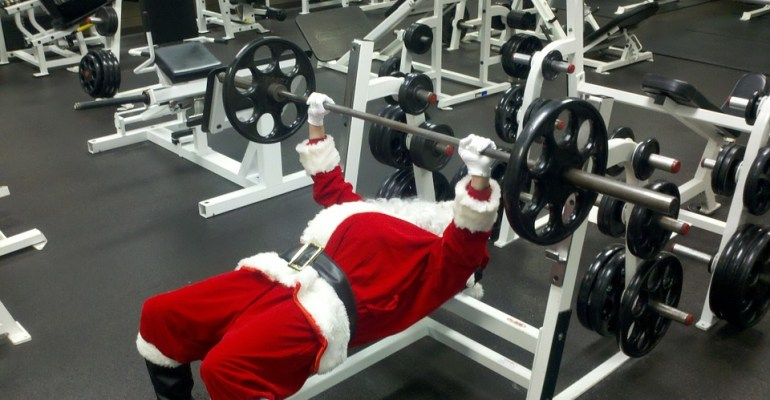 Christmas Day training
