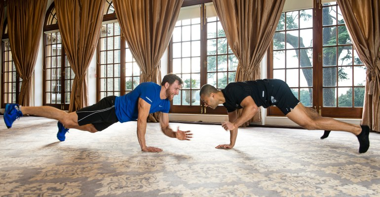 indoor-hedsor-house-sean-lerwill-kemo-marriot-press-up-wrestling-competition
