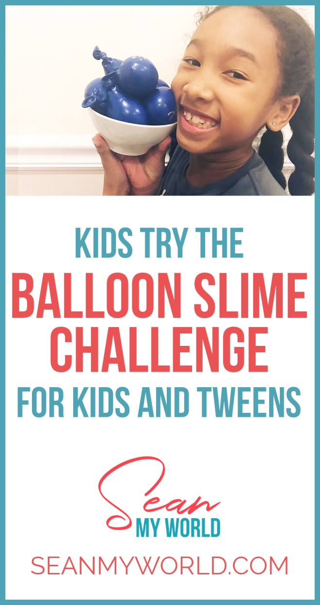 The Balloon Slime Challenge is when you make slime with balloons filled with each of the ingredients. In this video, my sister Ella and I try it out!
