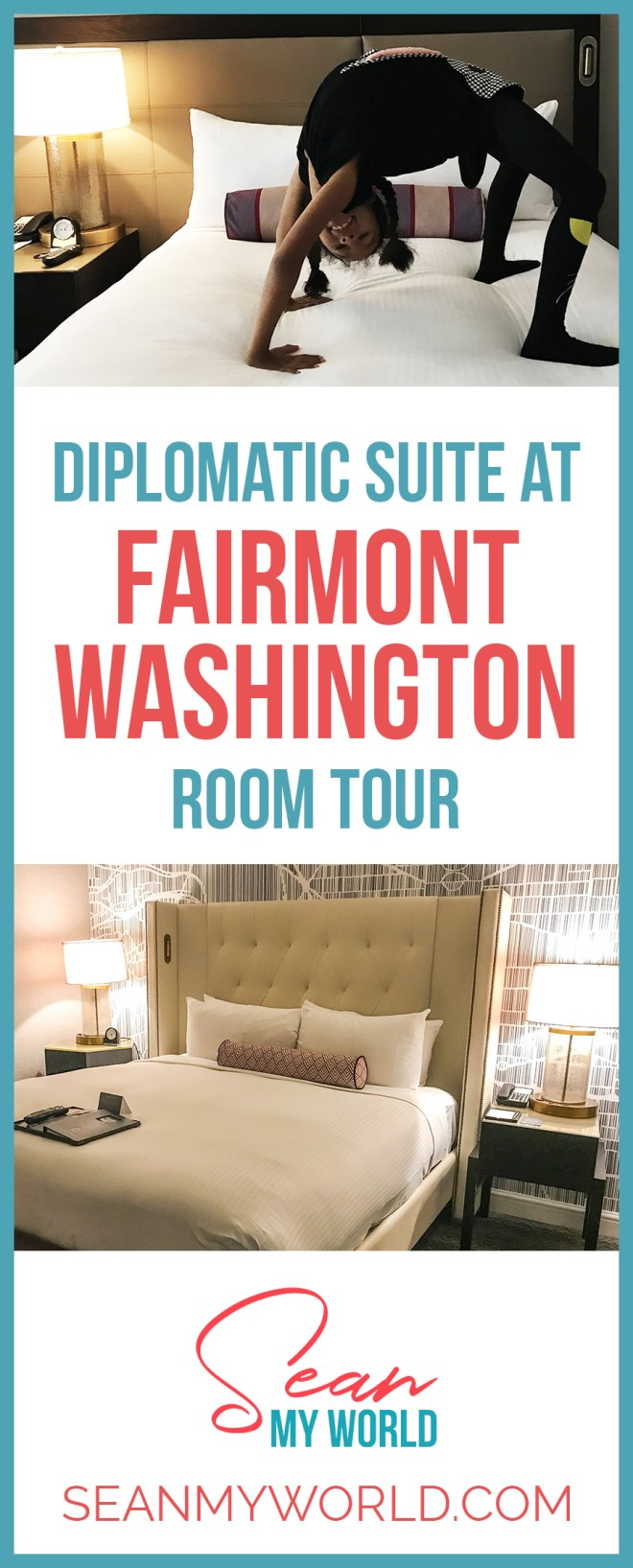 I'm excited to share with you this room tour of the Ambassador Suite at the Fairmont Hotel DC! It's my very first room tour video. Hope you like it!
